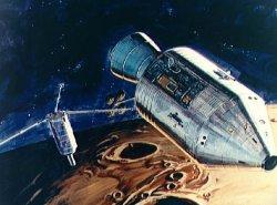 Rappresentazione artistica di un sub-satellite