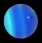 Ombra del satellite Ariel su Urano