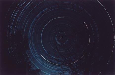 Il movimento rotatorio attorno alla Stella Polare