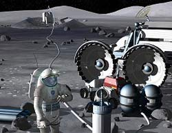 Insediamento umano sulla Luna