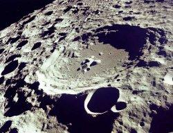 Luna ripresa dalla missione Apollo