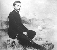 Einstein da ragazzo