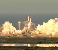 Il lancio dello Space Shuttle Atlantis