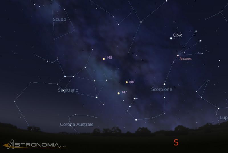 Il cielo nel mese di luglio 2014 - Scorpione e gemelli a letto ...