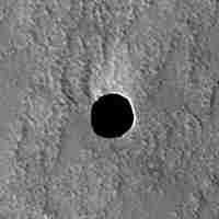 Il buco rilevato su Marte
