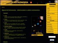 Cosmoweb - Appunti di Astronomia