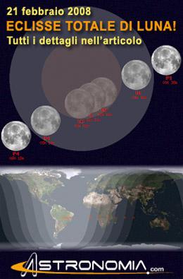 21 febbraio 2008 - Eclisse totale di Luna!