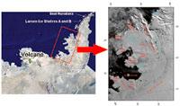 La zona del distacco coincide con l'area di attività di un vulcano sotterraneo