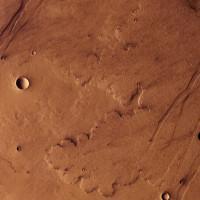 Il passato vulcanico di Marte