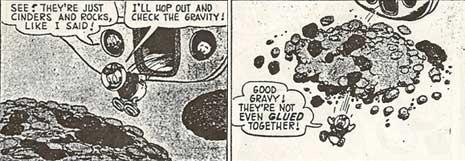 Un fumetto degli anni 60 che precede le pile of rubbles
