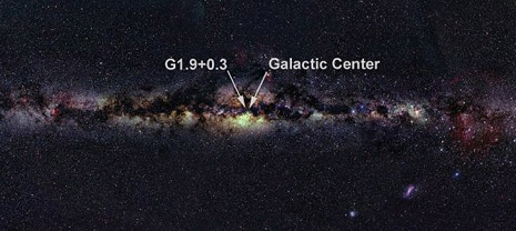 Resti supernova G1.9+0.3