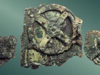 Frammenti del meccanismo della macchina di Anticitera