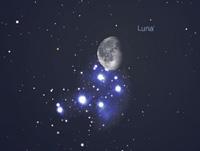 Occultazione Luna - Pleiadi 20 settembre