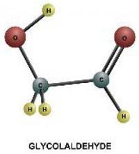 Molecola di glicolaldeide
