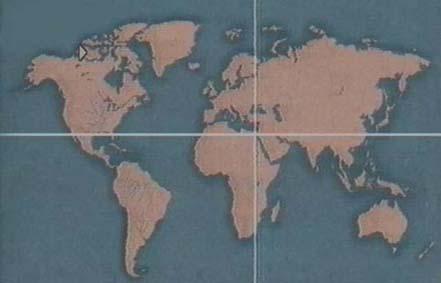 parallelo e meridiano passanti per Giza