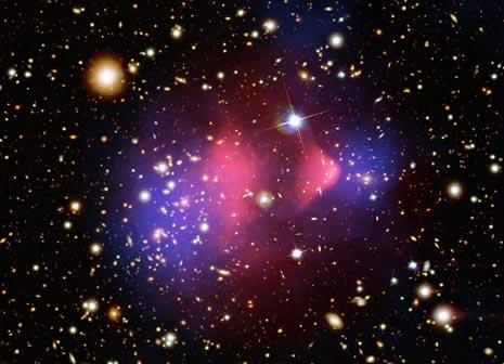L'ammasso galattico Bullet
