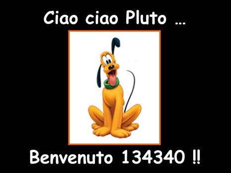Il caro e vecchio Pluto