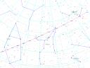 Posizione cometa yi-swan