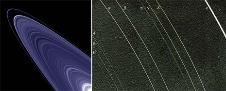 Due bellissime immagini prese dal Voyager 2