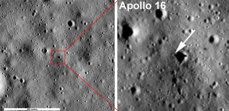 Sito di allunaggio della missione Apollo 16