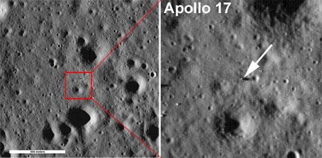 Sito di allunaggio della missione Apollo 17