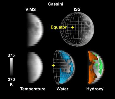 osservazioni effettuate dalla sonda Cassini il 19 agosto 1999