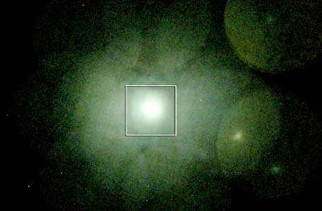 La zona dell'ammasso galattico del Perseo studiata dal telescopio Suzuko.