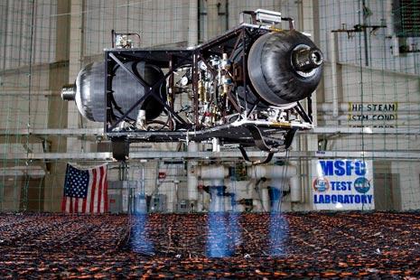 Il prototipo di Lunar Lander