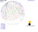 Zone della Terra interessate dall'eclissi
