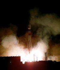 Il momento del lancio della Mars Express