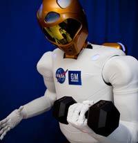Ecco R2 mentre fa allenamento