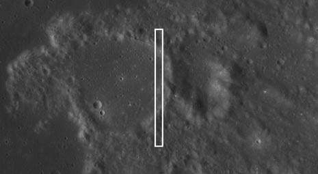 posizione della prima foto ad alta risoluzione