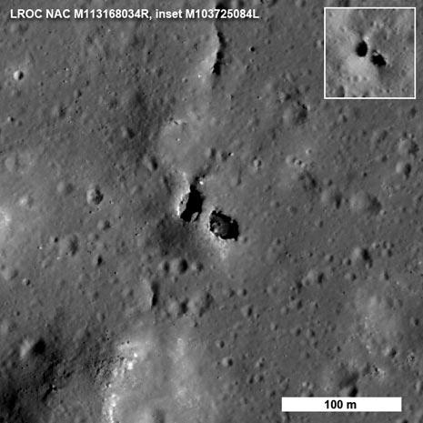 Ecco un pezzo della geologia lunare svelato dalla sonda LRO