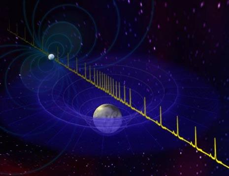 li impulsi provenienti da una stella di neutroni