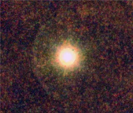 La stella gigante IRC+10216