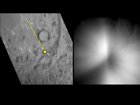Immagini della sonda Deep Impact