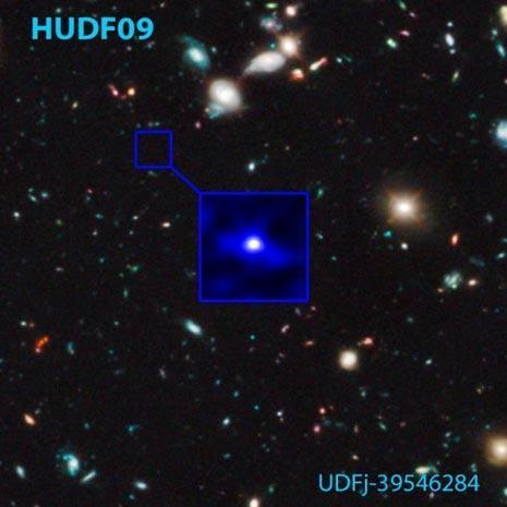 La galassia del record