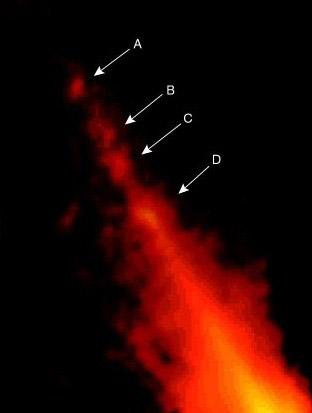 Possibili anelli all'interno del disco di Beta Pictoris