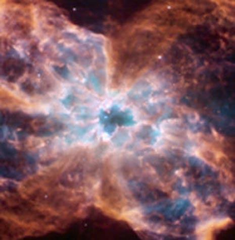 Esplosione di una stella simile al Sole