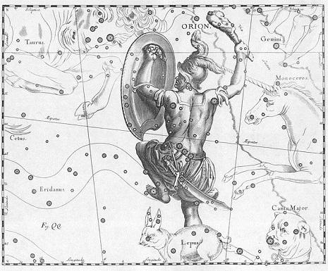 Orione secondo Hevelius - big