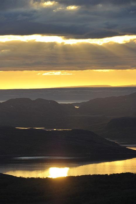 Eclissi del 2011 da Kirkenes