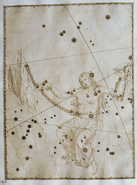Andromeda nell'Uranometria