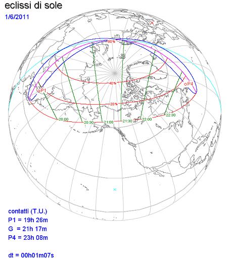 L'eclissi di giugno 2011
