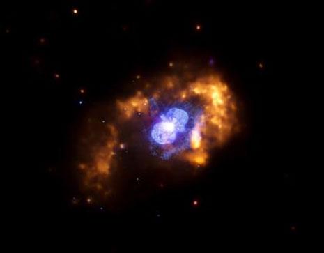Eta Carinae osservata da Chandra nei raggi X