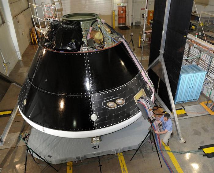 GTA (Ground Test Article) del Multi Purpose Crew Vehicle