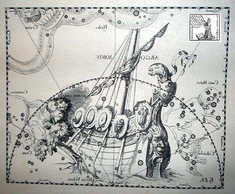 la Nave secondo Hevelius