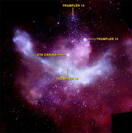 La straordinaria immagine ottenuta da Chandra