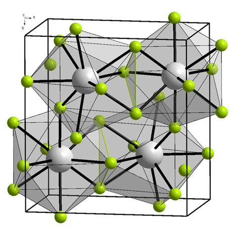 Molecola di Fluoruro d'Itterbio