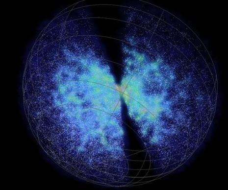 Le galassie utilizzate nella ricerca