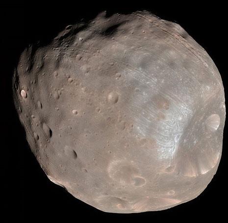 Il satellite di Marte Phobos